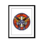 75th Air Police Framed Panel Print
