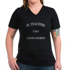 P.E. Teachers Sports White Letters Shirt