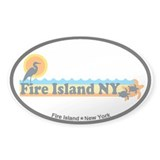Fire Island - Beach Design Decal
