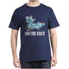 South East Map T-Shirt