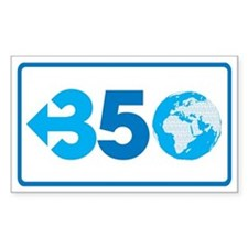 350.org Decal