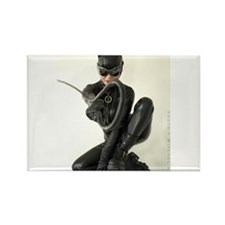 Cute Catwoman Rectangle Magnet