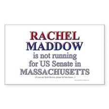Maddow for Senate Decal