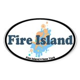 Fire Island - Seashells Design Decal