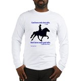 Long Sleeve T-Shirt / Good horses, miles