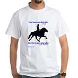 Shirt / Good horses, short mile
