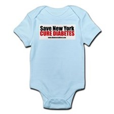 Save New York  Cure Diabetes Infant Creeper