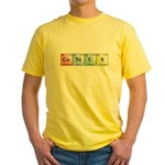 Genius Yellow T-Shirt