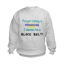 Black Belt Princess Sweatshirt