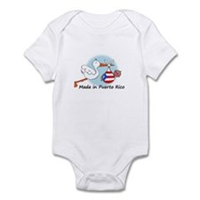 Stork Baby Puerto Rico Infant Bodysuit