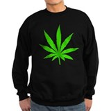 Marijuana Leaf Sweatshirt
