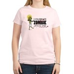 Zombie Jesus Day women't light tee