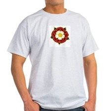 Tudor Rose Ash Grey T-Shirt