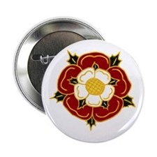 "Tudor Rose 2.25"" Button (10 pack)"