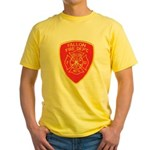 Fallon Fire Department Yellow T-Shirt
