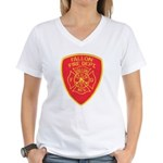 Fallon Fire Department Women's V-Neck T-Shirt