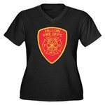 Fallon Fire Department Women's Plus Size V-Neck Da