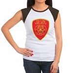 Fallon Fire Department Women's Cap Sleeve T-Shirt