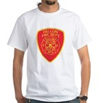 Fallon Fire Department White T-Shirt