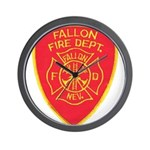 Fallon Fire Department Wall Clock