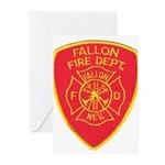 Fallon Fire Department Greeting Cards (Pk of 20)
