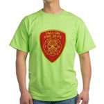 Fallon Fire Department Green T-Shirt