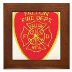 Fallon Fire Department Framed Tile