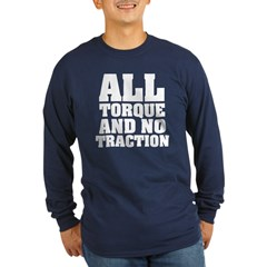 The All Action Long Sleeve Dark T-Shirt