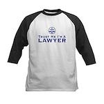 Trust Me I'm a Lawyer Kids Baseball Jersey