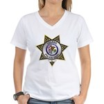 Leland Police Women's V-Neck T-Shirt