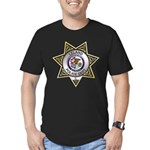 Leland Police Men's Fitted T-Shirt (dark)