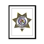 Leland Police Framed Panel Print