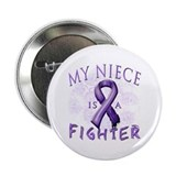 "My Niece Is A Fighter 2.25"" Button"