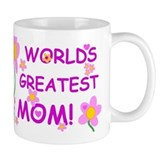 World's Greatest Mom Small Mugs