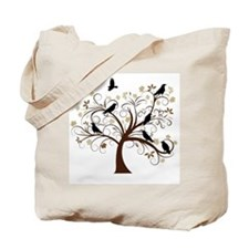 The Raven's Tree Tote Bag