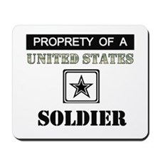 Property of a US Soldier Mousepad