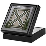 Triple Irish Chain Keepsake Box