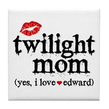 Twilight Mom Tile Coaster