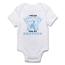 I Wear Light Blue for my Brother Infant Bodysuit