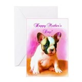 Happy Mother's Day French Bul Greeting Card