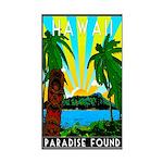HAWAII - ART DECO Sticker (Rectangle)
