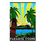 HAWAII - ART DECO Postcards (Package of 8)