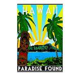 HAWAII - ART DECO Postcards (Package of 8)
