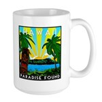 HAWAII - ART DECO Large Mug