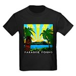 HAWAII - ART DECO Kids Dark T-Shirt