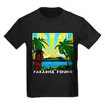 HAWAII - ART DECO Kids Dark T-Shirt