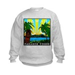 HAWAII - ART DECO Kids Sweatshirt