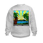 HAWAII - ART DECO Kids Sweatshirt