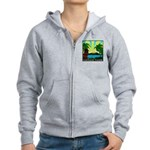 HAWAII - ART DECO Women's Zip Hoodie