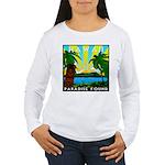 HAWAII - ART DECO Women's Long Sleeve T-Shirt